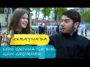 UKRAYNA'DA 🇺🇦 1000 GRİVNA İLE BİR GÜN GEÇİRMEK