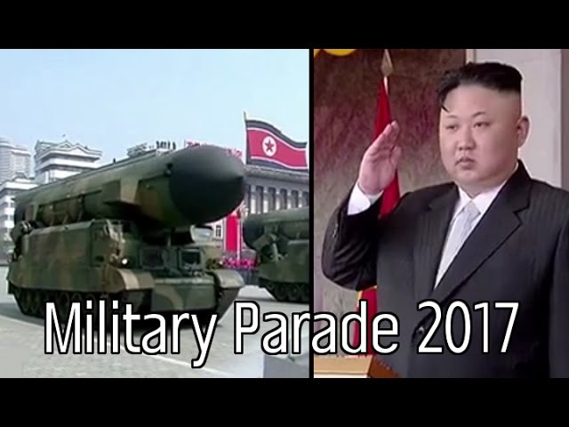 North Korea Military Parade [April 15th, 2017 - Day of the Sun/105th Birthday of Kim Il Sung]