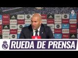 Главный тренер Реала Зинедин Зидан поделился мнением о матче чемпионата Испании против Лас-Пальмаса (33).