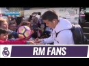 RMFans giving us a GREAT welcome in Castellón