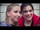 Мария СОТСКОВА и Аделина СОТНИКОВА после шоу @ Magic on ICE / SOTSKOVA SOTNIKOVA / 2016.09.04