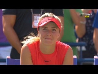 Элина Свитолина - Каролина Возняцки / Elina SVITOLINA (UKR) vs Caroline WOZNIACKI (DEN)