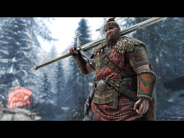For Honor: игровой процесс за Горца / Highlander Gameplay in 1080p 60fps