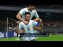 Argentina vs Venezuela | Messi 2 Goals & Full Match | Gameplay PES 2017