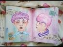 Творческий блокнот Мой личный дневник Sofora Niki Создание рисунка