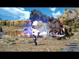 FINAL FANTASY XV - 9999 Max Damage Magic Attack & Magic Counter