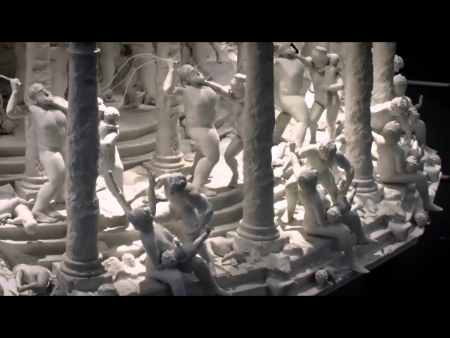 All Things Fall - 3D printed zoetrope by Mat Collishaw
