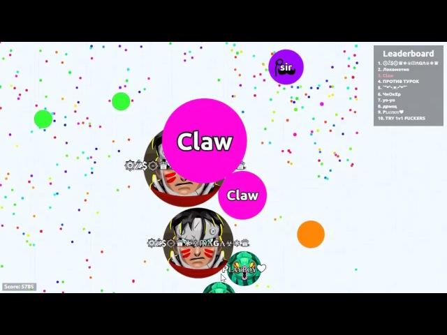 Agar.io Claw vs Teams