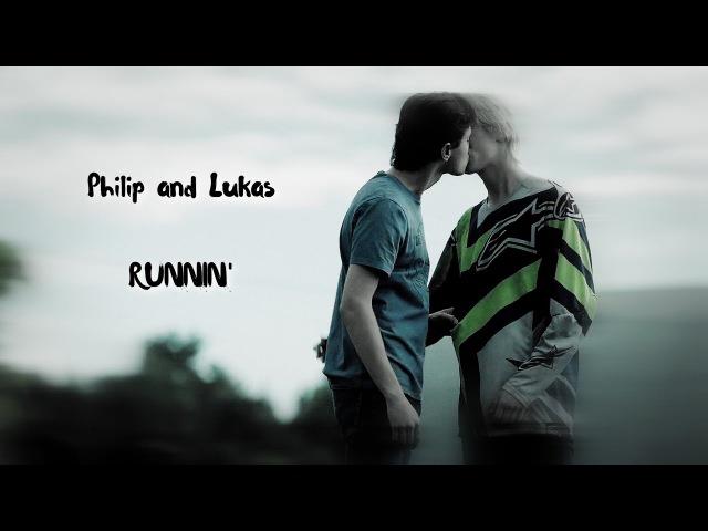 Philip and LukasRunnin'