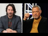 """Keanu Reeves and Laurence Fishburne Talk """"John Wick Chapter 2"""""""