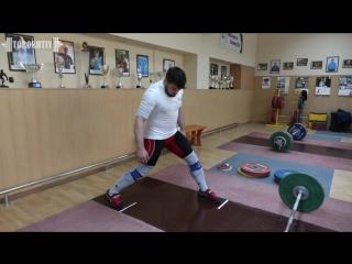 ТОЛЧОК в НОЖНИЦЫ / А.ТОРОХТИЙ (тяжелая атлетика)