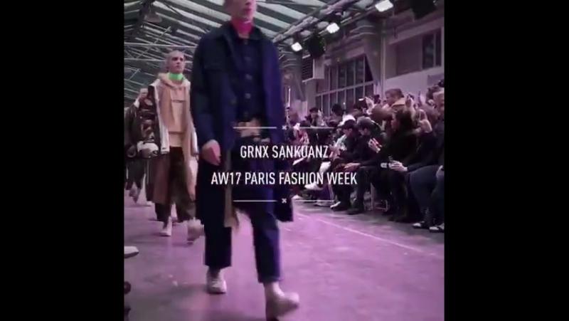 GRN X SANKUANZ @AW17 Paris Fashion Week... Париж 02.06.2017