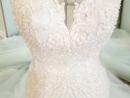 Высокого класса Свадебное платье Русалка со шлейфом