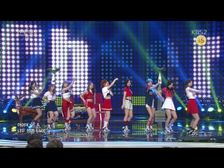 161224 TWICE - Cheer Up + TT (with Gagmen) @ 2016 KBS Entertainment Awards