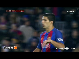 Барселона - Атлетик. Незасчитанный гол Барселоны