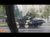 Ultra Vine  Танк снёс столб в Минске