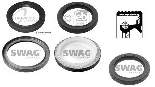 Уплотняющее кольцо, коленчатый вал; Уплотняющее кольцо, распределительный вал для BMW Z1