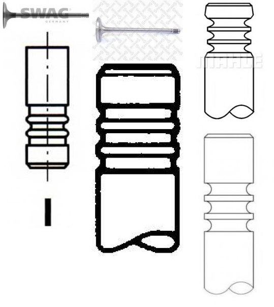Впускной клапан для BMW Z3 купе (E36)