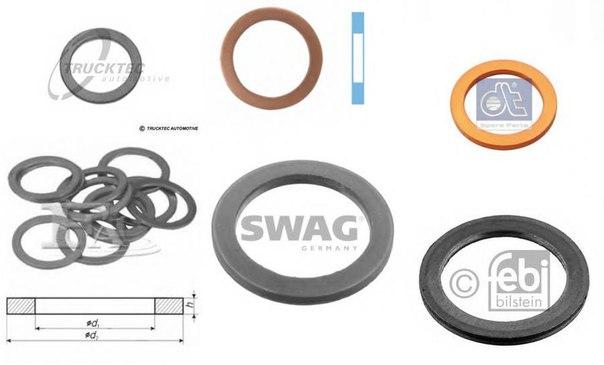 Уплотнительное кольцо, резьбовая пр для BMW Z4 купе (E86)