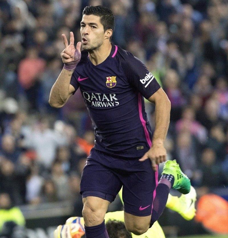 Luis Suarez yana bir natijani qayd etdi