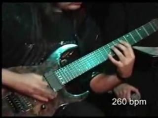 Виктор Зинчук-Мировой рекорд скоростной игры на гитаре 2008 Полет шмеля