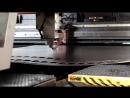 Вырезка и пробивка деталей на лазерном прессе