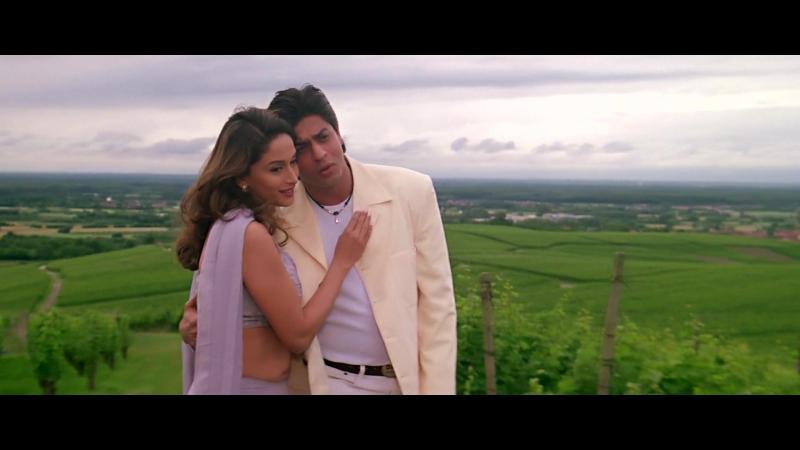 ♫Сумасшедшее сердце / Dil To Pagal Hai - O Dholna♫ Шахрукх Кхан и Мадхури Диксит (Retro Bollywood)