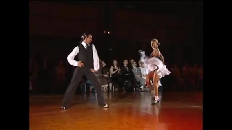 Maxim Kozhevnikov Yulia Zagoruychenko Jive WSSDF2006