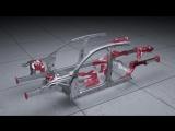 Audi A8 Space Frame с уникальным сочетанием материалов