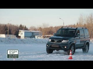 Обновленный УАЗ Патриот: ESP Off-Road