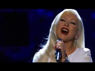 выступление  Кристина Агилера \ Christina Aguilera - Stormy Weather Национальный музей афроамериканской истории и культуры.
