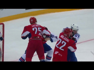 Хоккей KHL Fight׃ Lokomotiv vs SKA 27/03/2017