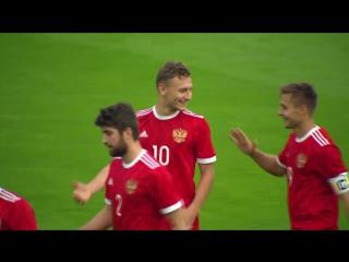 Россия - Беларусь (7:0). Гол Чалова