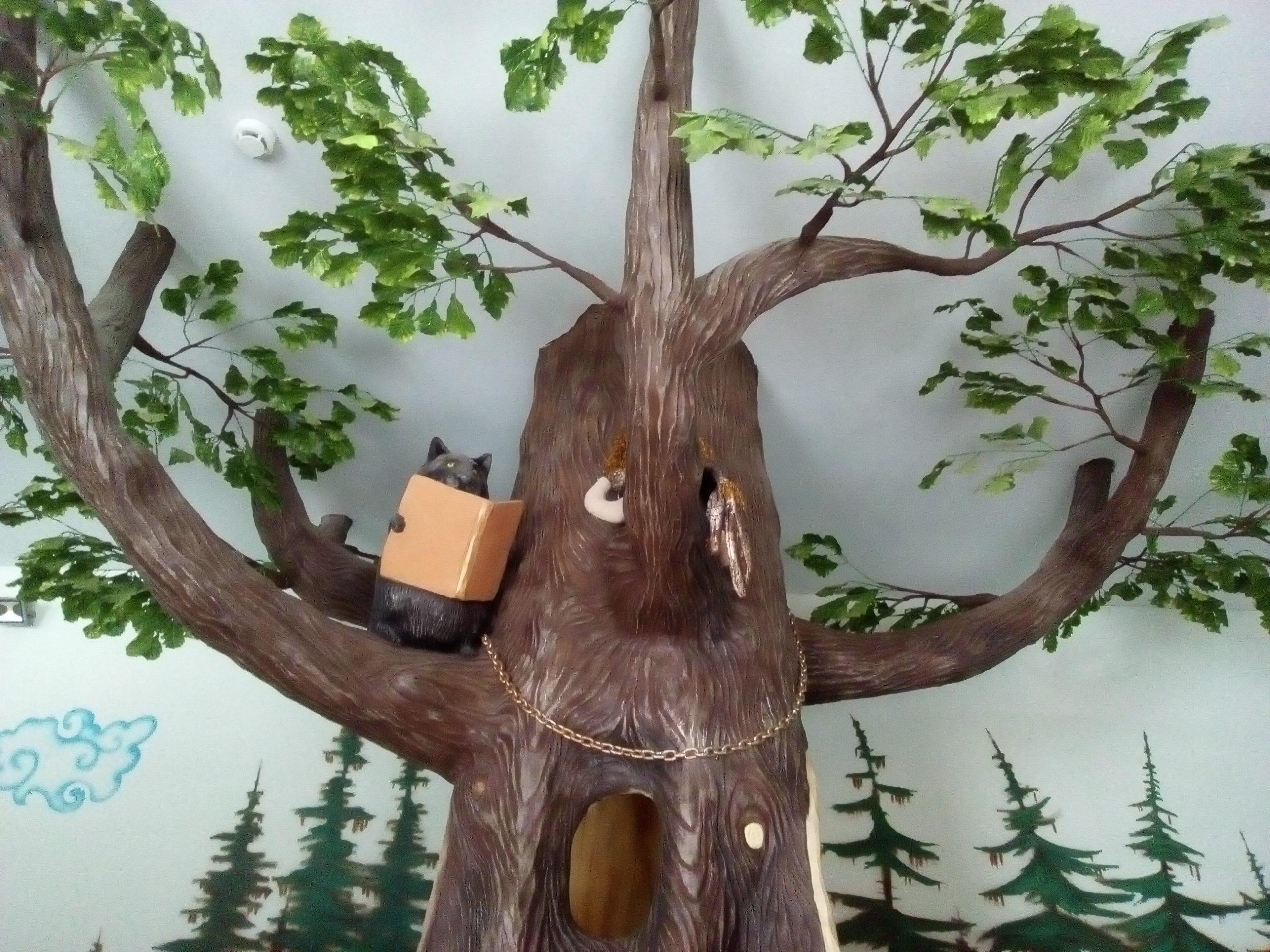 Дерево ученого кота (27.02.2017)