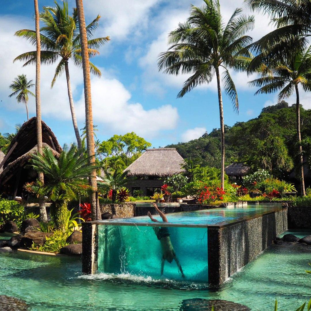 бассейн на Фиджи