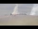 ПТУРщики ИГ уничтожают транспорт иракской стороны на юго-западе от Мосула, 21.02.2017