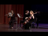 Weber. Trio for Piano, Flute and Cello. Е.Смирнова, В.Курочкина, Е.Усманова. ТСМ, 23.09.2016