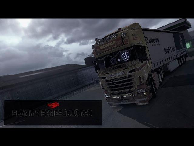 [ETS2 v1.28] Purview - Scania 4 Series (RJL) Red Pack 4K