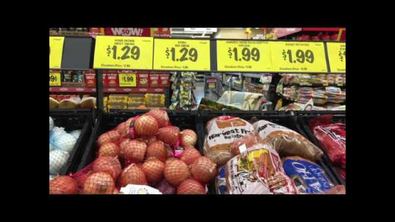США.Открылся новый Супермаркет .