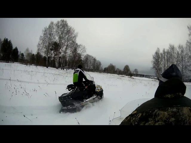 Снегоходы Stels Ермак и Viking 600
