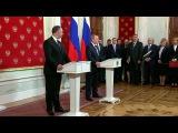 ВКремле состоялась первая запоследние девять лет встреча президентов России иМолдавии