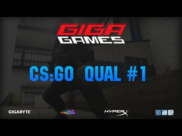 GIGA GAMES 2017 CS:GO Qual 1| AIMSHOW-GAMING vs. HQS