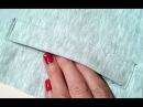 How to sew a pocket.2 Sewing course. 💎Jak uszyc kieszeń do bluzy lub spodni kurs szycia