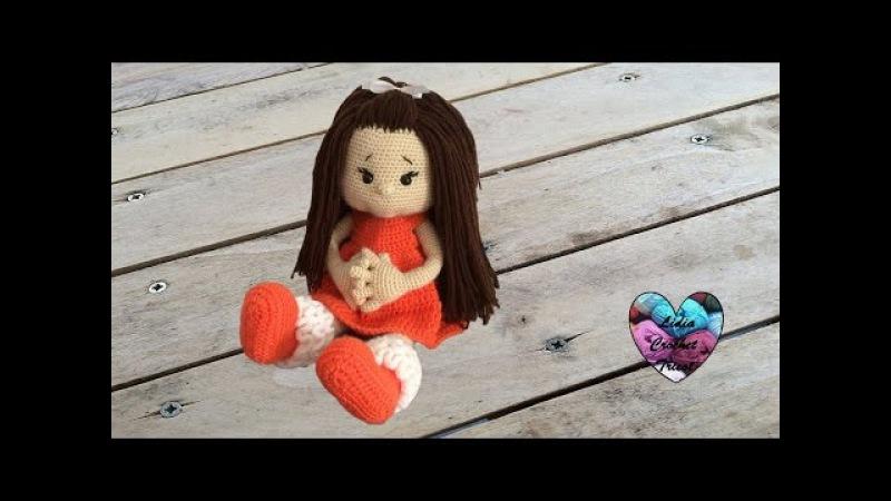 Poupée Paula Amigurumi crochet 12 Paula doll crochet (English subtitles)