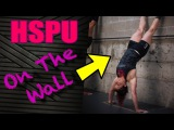 Handstand Pushups (3 Simple Steps To Kick Up On The Wall)