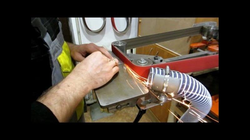 Обзор гриндера для изготовления ножей (в работе с августа 2016г.)