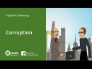 Learn English Listening | Pre-Intermediate - Lesson 3. Corruption