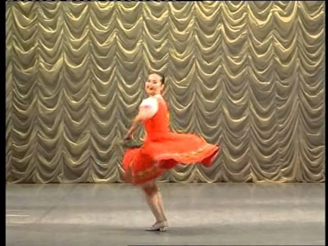 Русский танец Полянка