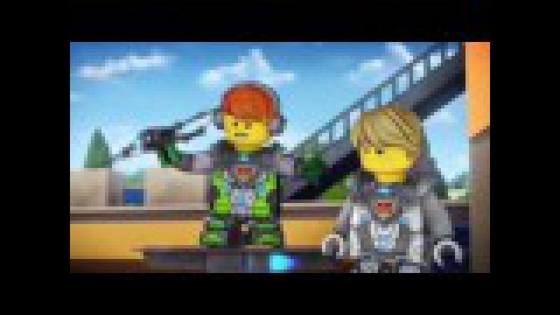 Лего мультик Нексо Найтс.Часть 2 Битва.Видео для детей.LEGO cartoon Nexo Knights.Детский к