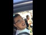 Птаха ака Зануда троллит Гуфа в твиттере, Сэм с Гуфом катаются на машине
